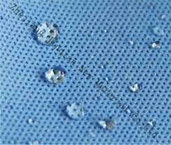 Anti-Static SMMS Nonwoven Fabric Use for Disposable Surgical Gown pictures & photos