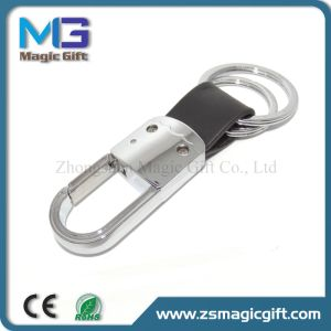 Customized Artificial PU Leather Keychain for Bussiness Giveaway Gift pictures & photos