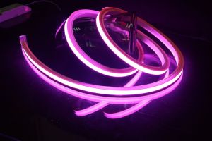 Super Bright Waterproof 24V Silicone Neon Light pictures & photos