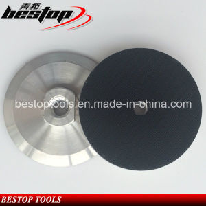 """4"""" 100mm 5/8""""-11 Threaded Aluminum Based Backer Pad pictures & photos"""