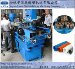 Single Screw Plastic Corrugated Pipe Making Machine pictures & photos