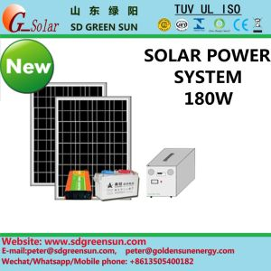 180W Solar System/Solar Power Supply for Home/Residential (2017) pictures & photos