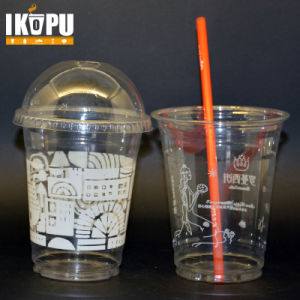 Custom PP Pet Plastic Cup with Lid pictures & photos