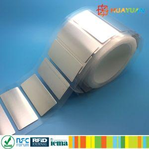 EPC Gen2 Impinj Monza 4QT UHF RFID on metal label pictures & photos