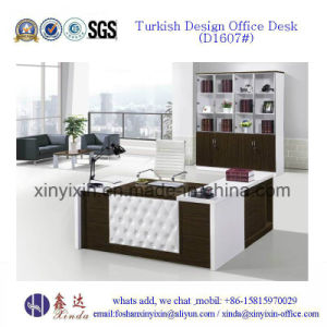 Modern Melamine Office Desk in China Wooden Furniture (D1613#) pictures & photos