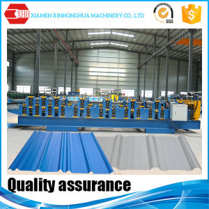 Yx17-840/21-860 Double Layer Steel Roofing Plate Rolling Machine Tile Roll Forming Machine pictures & photos