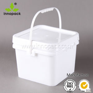 8L Wholesale Customized High-Quality Plastic Bucket with Handle pictures & photos
