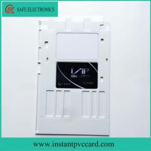 White Plastic PVC Card Tray for Epson Rx680 Printer pictures & photos