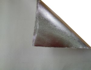 Aluminum Foil Fiberglass Insulation Cloth / Alu Foil Fiberglass Fabric pictures & photos