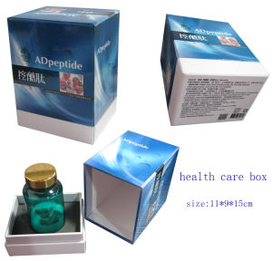 Health Care Product Packaging Box with Foam Insert/Folding Box pictures & photos