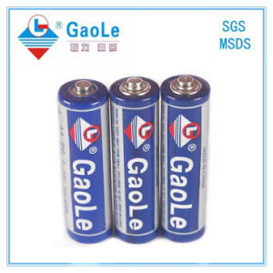 1.5V Super Power Cheap R6 AA Battery (3PCS/Shrink Pack) pictures & photos