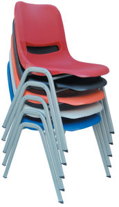 Stackable Powder Coating Plastic Student Computer Chair (HX-GS05) pictures & photos