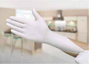 Disposable Latex Nitrile Rubber Gloves Medical Food Labor Insurance Rubber Oil Anti-Oil Industry Acid and Alkali Gloves Wholesale pictures & photos