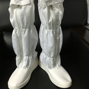 White PU Sole Anti Static Boots pictures & photos