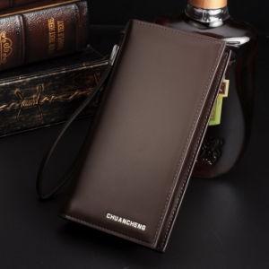 New Men′s Hand Bag Zipper Business Men Long Wallet Wallet Male Wholesale Handbags pictures & photos