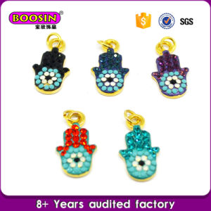 New Arrival Women Jewelry Evil Eye Charm Hamsa Hand Pendant pictures & photos