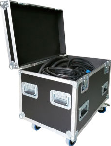 12mm Plywood Cable Case with Divider pictures & photos