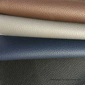 Blue PVC Leather for Furniture, Office Chair, Massage Chair pictures & photos