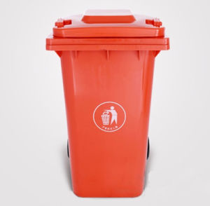 240 Liter Color Coded Plastic Large Garbage Bins pictures & photos