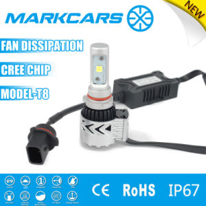 Markcars Fan T8 Car LED Light Auto Parts Headlight Bulb pictures & photos
