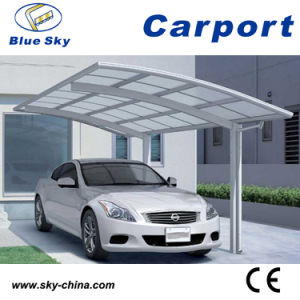 Metal Car Parking Shed with PC Roof (B800) pictures & photos