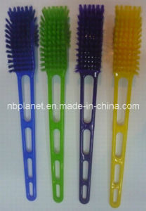 Plastic Hockey Shape Long Handle Toilet Brush pictures & photos
