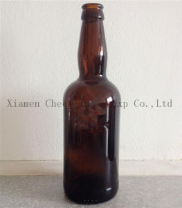 500ml Glass Beer Bottle Amber Color (PJ500-7) pictures & photos