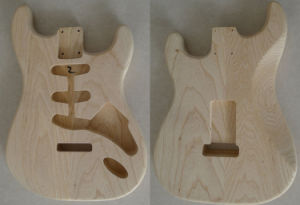 Swamp Ash Strat Guitar Body