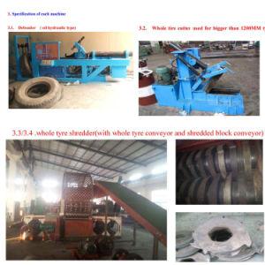 Waste Tyre Make Rubber Powder Machine Full Machine Line pictures & photos