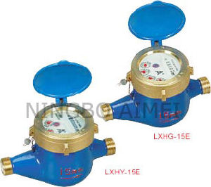 Volumetric Rotary Piston Water Meter (LXHY-15E-20E LXHG-15E-20E) pictures & photos