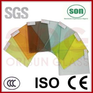6.38-16.76mm Bronze PVB Laminated Glass