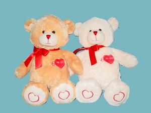 Plush Toy (Love Bear)