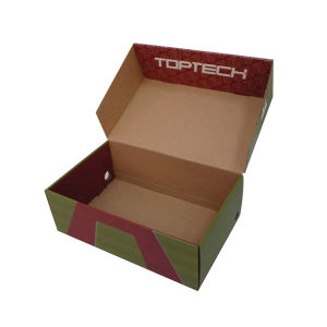 Paper Shoes Packaging Box (FP5092) pictures & photos