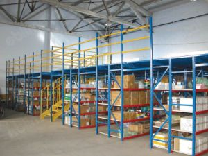 CE Certificated Storage Rack (Steel Mezzanine racking) (EBIL-GLPT) pictures & photos