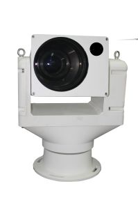 Outdoor HD Laser Thermal Dual Optical Thermal PTZ 4k 3840 X 2160@30fps Camera 10km with Laser pictures & photos