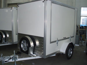 Single Axle Cargo Trailer with Big Side Window (GW-BLV 7) pictures & photos