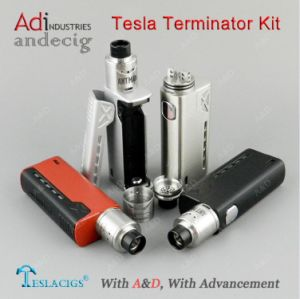 2017 Newest Tesla Terminator 90W Kit Vape Box Mod, Tesla Electronic Cigarette pictures & photos