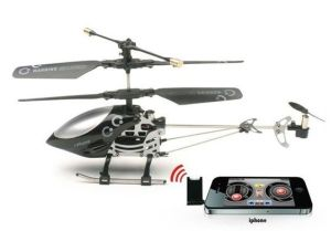 3CH iPhone Controlled RC Mini Helicoper (Gyros Inculded) (MY30673)