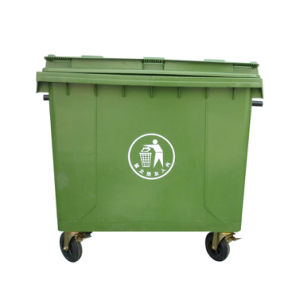 Taizhou 660L Plastic Trash Container pictures & photos