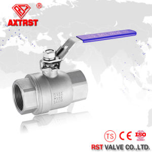 2PC 1000wog 304 Stainless Steel Full Bore Ball Valve pictures & photos