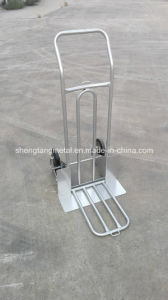 Folding Toe Pallet Hand Trolley pictures & photos
