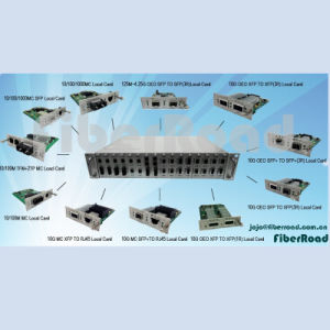 in-Band Management Media Converter System 16 Slots Chassis (FR600-X1)