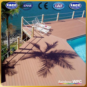 Fashion Classic New Outdoor WPC Flooring Decking Railing