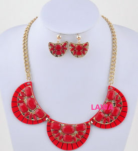 Handmade Sweet Necklace Set Fashion Lady Necklace (LSS49)
