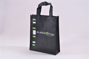 Cheap Recycled Custom Printing Grocery Tote Shopping PP Non Woven Bag (MECO219) pictures & photos