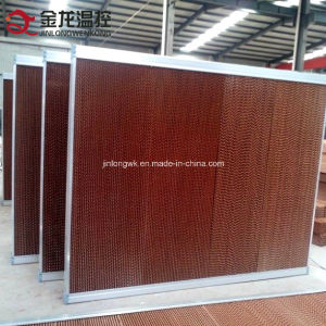 Evaporative Cooling Pad with Corrugated Fiber Paper (7090) pictures & photos