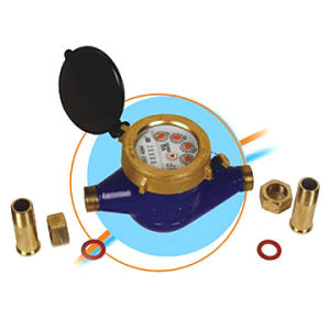 Water Meter Rotary Vane Wheel Dry-Dial Magnet Driven Cold (LXSG-15E)