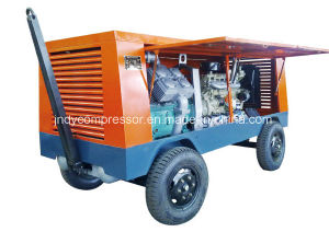 Movable Oilless Compressor Piston Air Compressor pictures & photos
