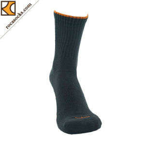 Hiking Coolmax Micro Crew Cushion Socks-Men′s (162020SK) pictures & photos