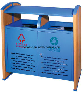 Metal Outdoor Dustbin Waste Bin (DL60) pictures & photos